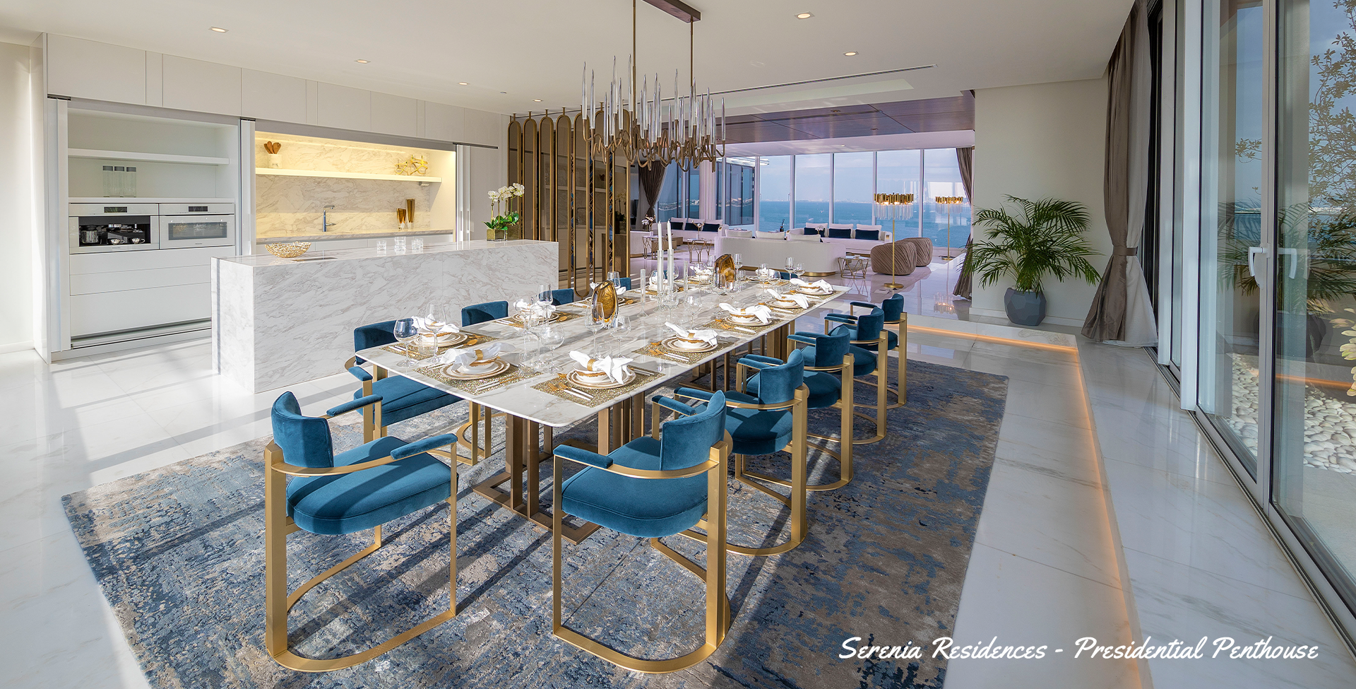 Serenia The Palm - The Presidential Penthouse